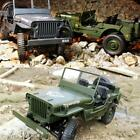JJRC Q65 1/10 2.4G RC Open Car Military Jeep Off-road 4WD Rock Crawler RTR Toy