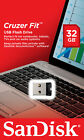 SanDisk CRUZER FIT 8GB 16GB 32GB 64GB USB 2.0 Flash Memory Pen Drive Stick
