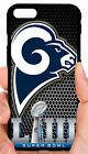 LOS ANGELES RAMS SUPER PHONE CASE FOR iPHONE XS MAX XR X 8 7 6S 6 6 PLUS 5 5S 5C $19.99 USD on eBay