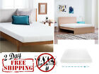5 Inch Gel-Infused Memory Foam Comfort Mattress Firm Support Twin Queen King   image