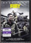 Fury DVD & Digital Ultrviolet Code Brand New Sealed Brad Pitt