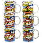 Novelty Funny Mug. Regional Superhero Humour Funky Cool Unique Gift for Him