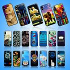 **NEW PRINTS SILICONE GLOSSY GEL GLASS BACK PHONE CASE COVER FOR APPLE IPHONE 7G