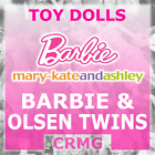 BARBIE DOLL MARY-KATE & ASHLEY OLSEN TWINS 1990's MULTI LISTING (DAMAGED BOXES)
