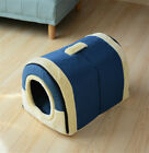 Pet Cat Igloo Bed Small Dog Soft Bed Met House Waterproof Covered 1PC (S,M,L)