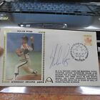 Nolan Rryan Canada Strikeout record Signed First Day Cover