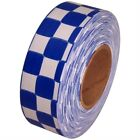 "Checkerboard Flagging Tape 1-3/16"" Non-Adhesive Plastic RibbonTrail Markers & Signs - 177889"