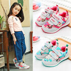 Kids Fashion Sports Shoes for Girls Children Running Casual Shoes Sneakers Size