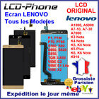 Ecran LENOVO A1000,A7-10,K5 NOTE,K910,P1M,P70,S820,TQB,VIBE 6 LCD +Vitre Tactile