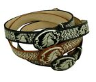 AUTHENTIC MEXICAN WESTERN cinto charro piteado Hand-braided BELTS Horse