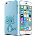 """iPhone 6S 6 4.7"""" Case ULAK 3D Printing Full-body Shockproof Leather Case"""