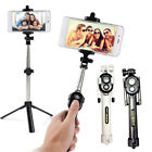 New Extendable Selfie Stick Tripod Remote Bluetooth Shutter For iPhone 7 Plus