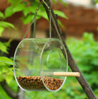 Bird Feeder Squirrel Proof Outdoor Garden Seed Food Container Tree Hanging Box