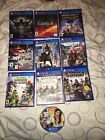 Ps4 Game Lot Grand Theft Assains Creed Diablo The Crew Farcry 4 Minecraft Cars