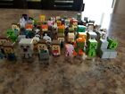 Mindcraft Mini Figures. 62 in the lot. Perfect condition