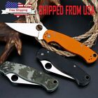 "8"" Tactical Pocket Folding Knife Military Survival EDC Blade Open Camping"