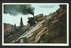 166-TRAINS & RAILROAD -COLORADO -Acending Cog Road, Pike´s Peak