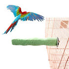 KE_ Pet Parrot Claw Grinding Stick Flat Stand Platform Perch Cage Decor Toy HO