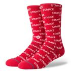 Stance NEW Men's Repeat Socks Red BNWT