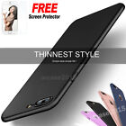 Black Ultra thin Full Body Shockproof Soft Case Cover Phone X 6/6S 7 8 XR Top