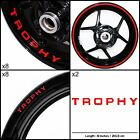 Triumph Trophy Motorcycle Sticker Decal Graphic kit SPKFP1TR016 $95.0 USD on eBay