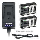 Kastar Battery Super Fast Charger for Sony NP-FM500H & Sony SLT-A65VM SLT-A65VY