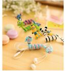 Cord Winder Cartoon Cable Organizer Wrap Manage Wire Earphone Headphone Holder