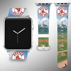 Boston Red Sox Apple Watch Band 38 40 42 44 mm Series 1 2 3 4 Wrist Strap 2 on Ebay