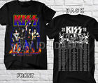 KISS Band T-Shirt End of the Road 2019 World Tour Concert Tee | Complete Date  image