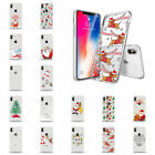 6 7 Coloured MAX Christmas Case Drawing 8 XS Cover For Shell XR iPhone Xmas Soft