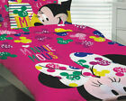 Minnie Mouse Quilt Doona Duvet Cover Set Bedding Girls Kids Toys Disney Bow Pink image