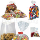 Clear Polythene FOOD BAGS 10x12