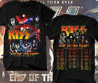 KISS Band t shirt End of the Road Farewell Tour 2019 Concert Men Graphic Shirt image