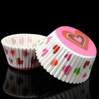 100Pcs Paper Cake CupCake Muffin Chocolate Bakeware Baking Cups Liners Tray Mold