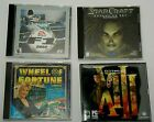 "Computer Cd-rom Video Games F1, Star Craft, Thirteen, Or Wheel Of Fortune ""htm"""