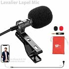Lavalier Lapel Microphone for iPhone X 8 7 Plus 6 6s 5 5s / iOS/Android | Mini L