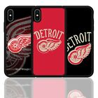 Detroit Red Wings Ice Hockey Silicone Case Cover For iPhone 7 8 X XR XS Plus 11 $8.58 USD on eBay
