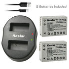Kastar Battery Dual USB Charger for Canon NB-10L CB-2LC Canon PowerShot SX50 HS