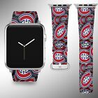 Montreal Canadiens Apple Watch Band 38 40 42 44 mm Series 1 - 5 Wrist Strap 1 $32.99 USD on eBay