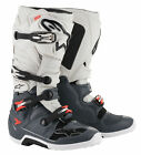 Alpinestars 2019 Tech 7 MX Boots WHITE GREY RED SHIPS FREE