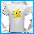 TOUR DE FRANCE 2019 Map Route Etape Stage Men's White T-Shirt S M L XL 2XL 3XL image