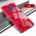 For Samsung Galaxy Note 9 S8 S9 Plus Shockproof Tempered Glass Tough Case Cover
