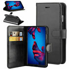 For Huawei P Smart 2019 PU Leather Flip Case Wallet Smart Magnetic Skin Cover