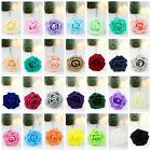12pcs Artificial Foam Roses Fake Flowers Wedding Bride Bouquet Home Party Decor