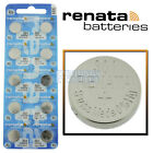 301 Renata Watch Battery SR43SW Swiss Made 0% Mercury Official Distributor