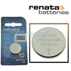 CR2032 Renata Watch Battery 3V Lithium Battery Official Distributor