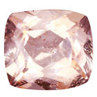 2.52Cts Ravishing Natural Peach Pink Morganite Cushion Cut Gemstone from Brazil