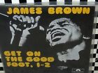 JAMES BROWN-Get On The Good Foot Pts.1&2-OR.GERMAN VG++ 45 & TEXTURED P/S!