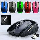 2.4GHz Wireless Cordless Mouse Mice Optical Scroll For PC Laptop Computer sD