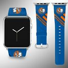 New York Islanders Apple Watch Band 38 40 42 44 mm Fabric Leather Strap 02 $29.97 USD on eBay